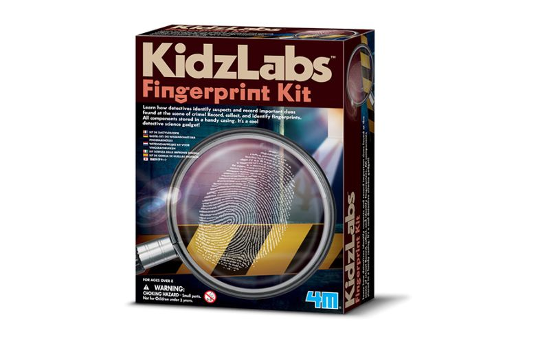 4M Detective Fingerprint Kit Front of the Box