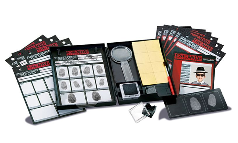 Detective Fingerprint Kit Contents