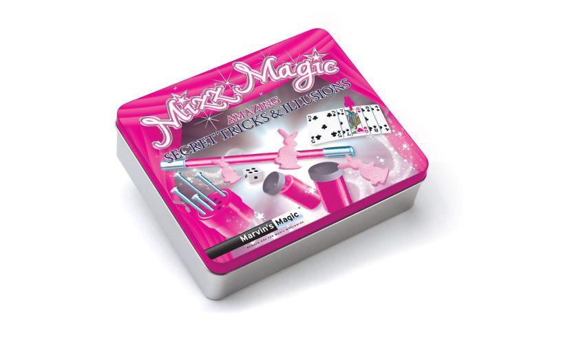 Mizz Magic Tin - Secret Tricks & Illusions