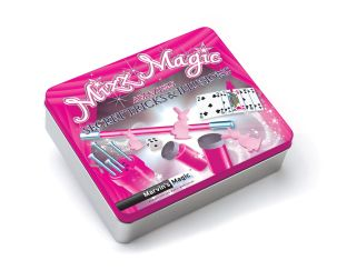 Mizz Magic Tin - Secret Tricks & Illusions