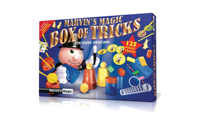 Marvins Magic Box Of Tricks Packaging