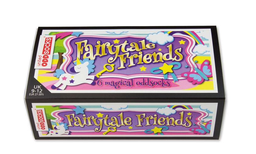 Fairytale Friends - Six Odd Socks Box