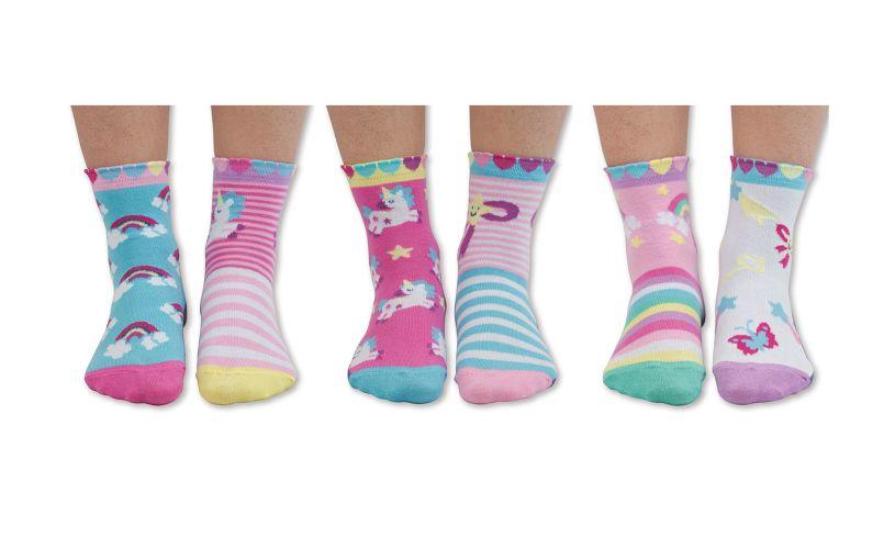 United Odd Socks Fairytale Friends - Six Odd Socks