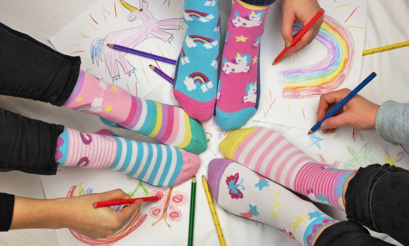 United Odd Socks Fairytale Friends Lifestyle