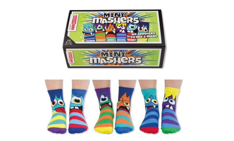 United Odd Socks MINI Mashers - Six Odd Socks