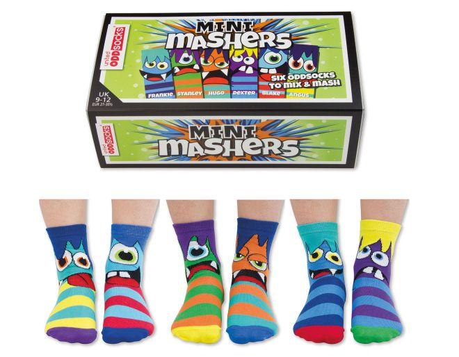 United Odd Socks MINI Mashers - Six Odd Socks