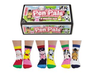 United Odd Socks Pen Pals - Six Odd Socks
