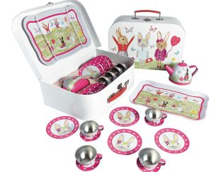 Floss and rock Bunny Tea Set