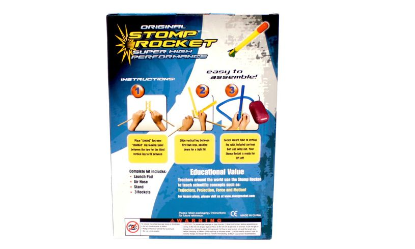 Super Stomp Rocket Box