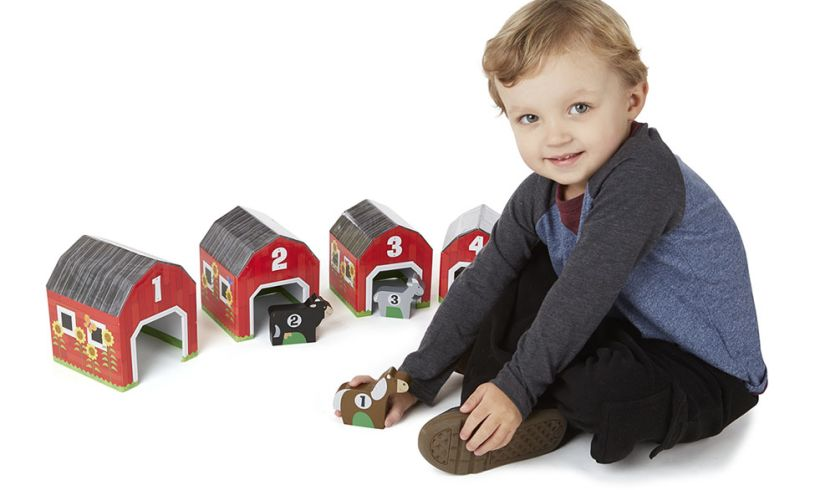 Melissa and Doug Nesting & Sorting Barns and Animals Lifestyle
