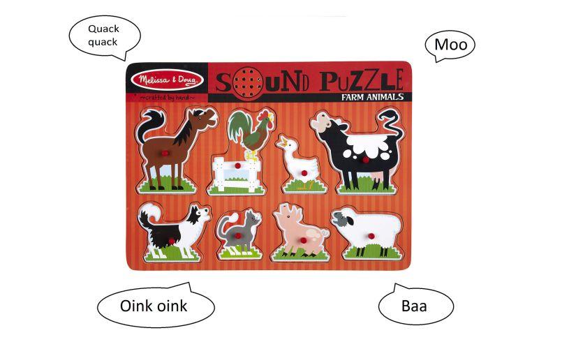 Melissa and Doug Farm Sound Puzzle