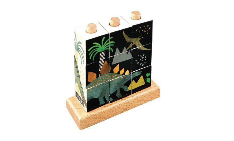 Dinosaur Cube Puzzle