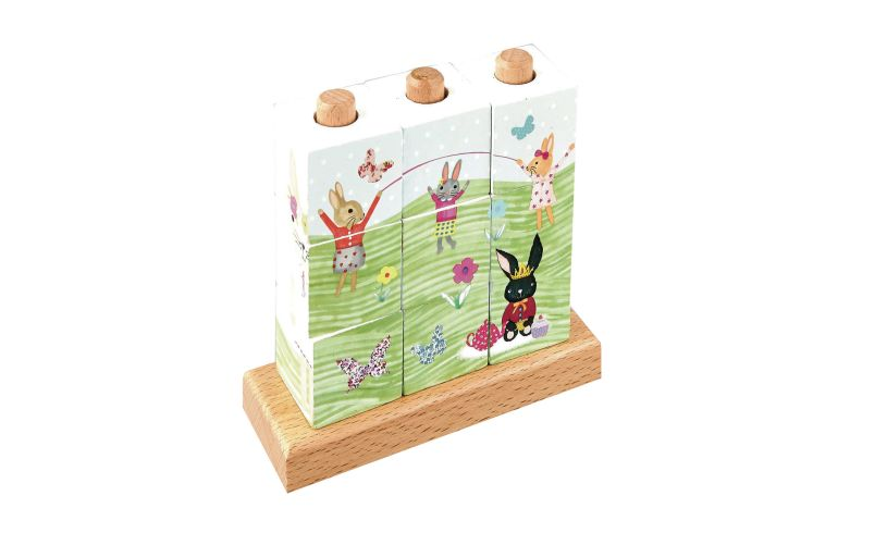 Bunny Cube Puzzle