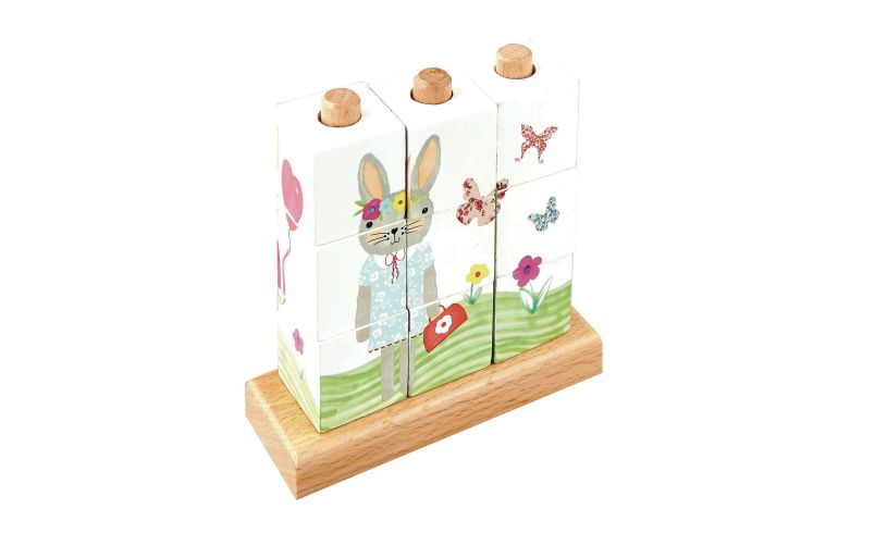 Floss and Rock Bunny Puzzle