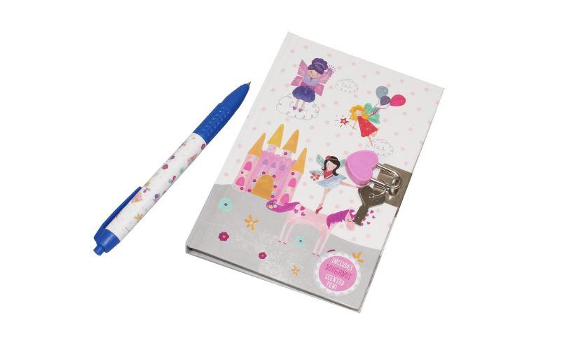 Floss and Rock Lockable Journal Doughnut Pen