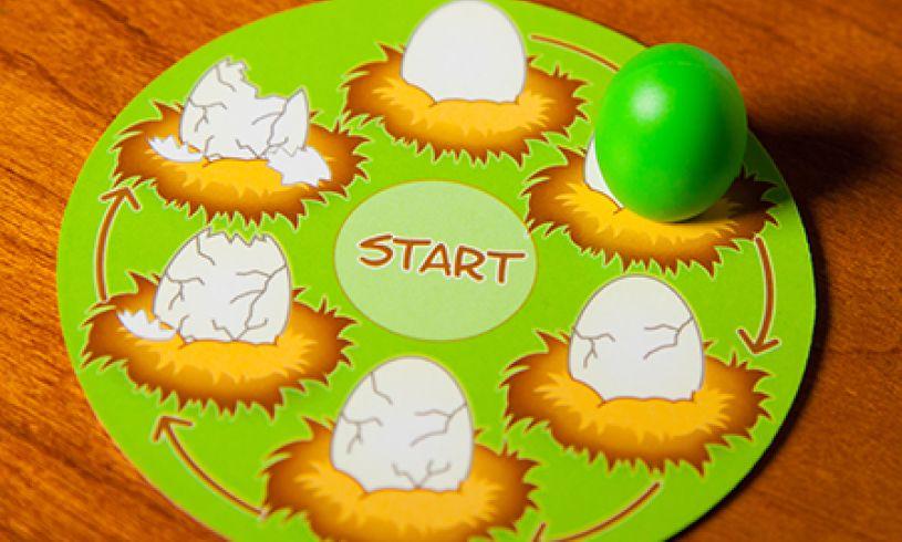Fat Brain Toy Co Peek-A-Doodle Doo Egg