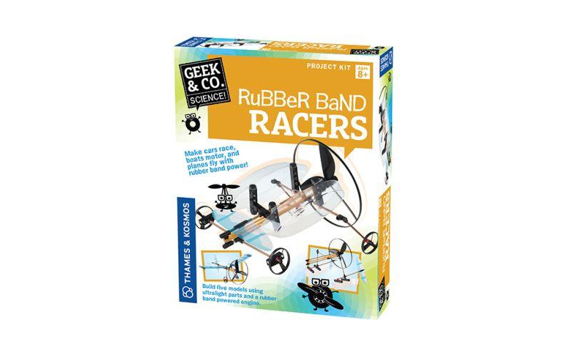 Thames & Kosmos Rubber Band Racers Box