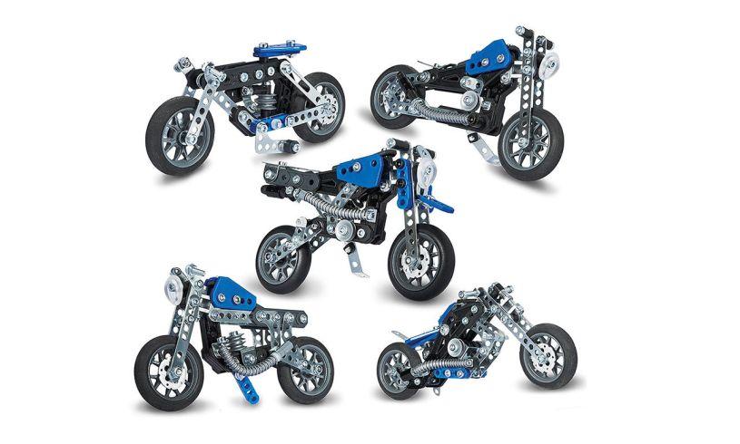 Meccano Motorcycles Model Set