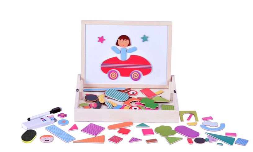 Fiesta Crafts Magnetic Shapes Contents