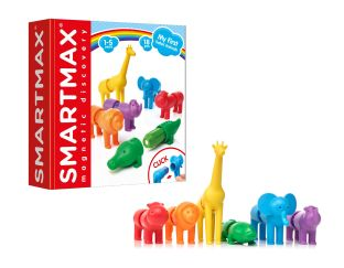 SAFARI Animals - Magnetic Fun Gifts | Age 3 Buy Toys for 3-Year-Old Boys