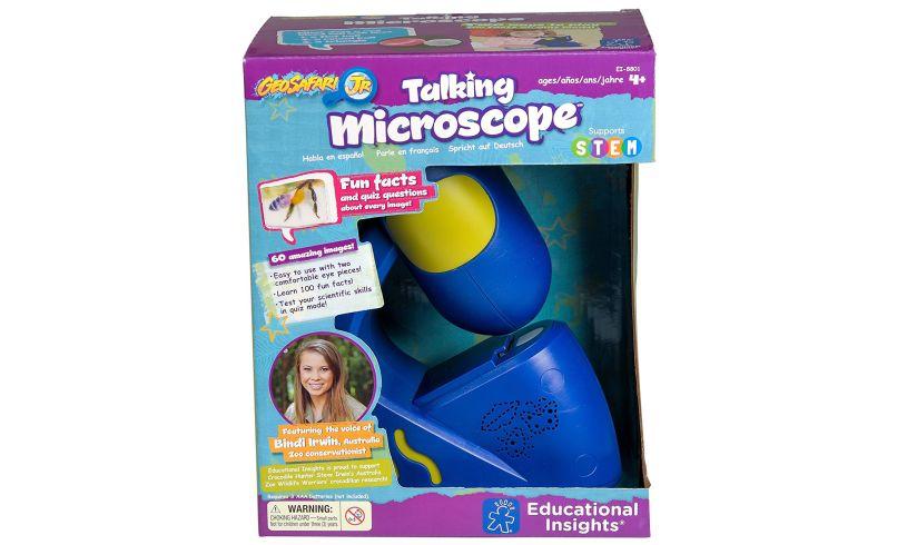Talking Microscope