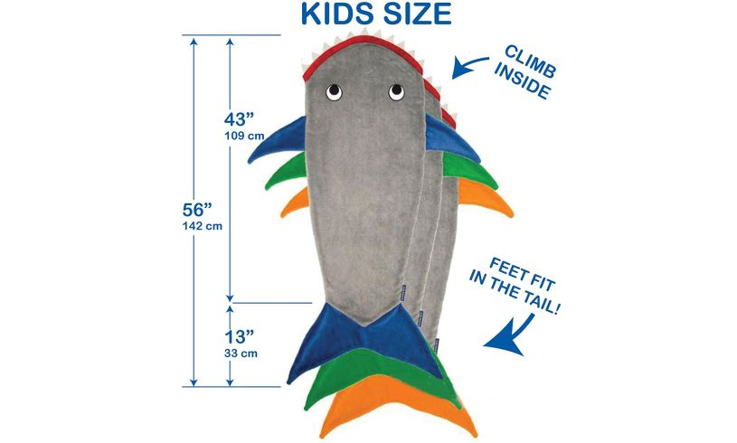 Shark Blanket Size