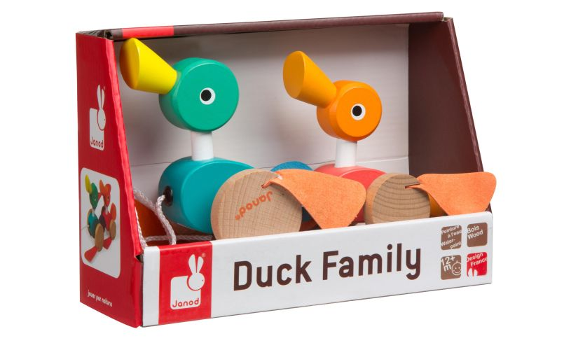 Janod Pull-Along Ducks in box