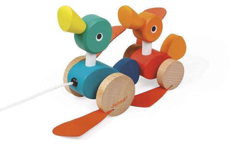 janod pull along ducks