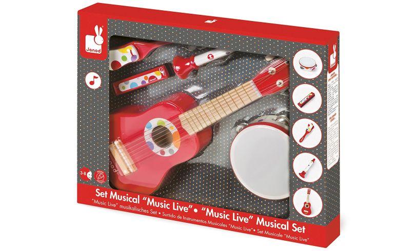 Musical Instrument Set Packaging