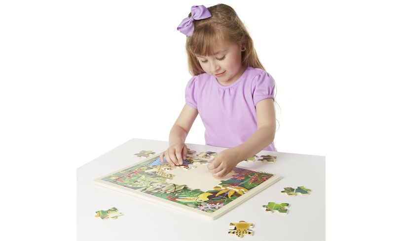 Wooden Rainforest Jigsaw Lifestyle