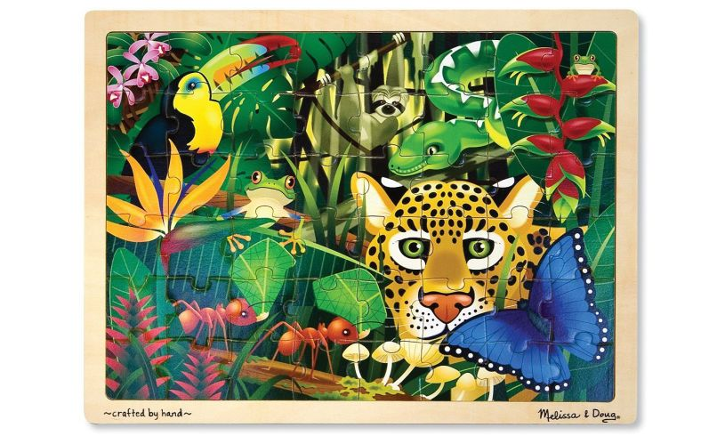Wooden Rainforest Jigsaw