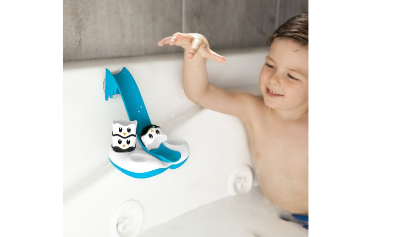 Waddle Bobbers in the Bath
