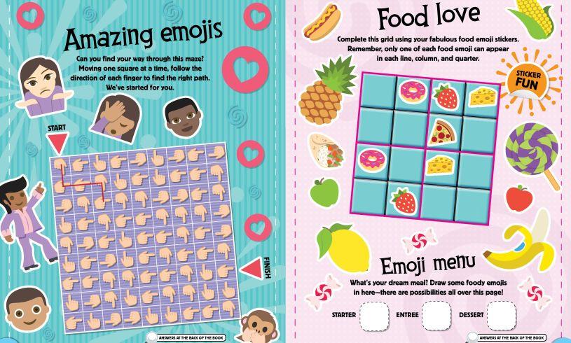 Emoji Puzzles Book