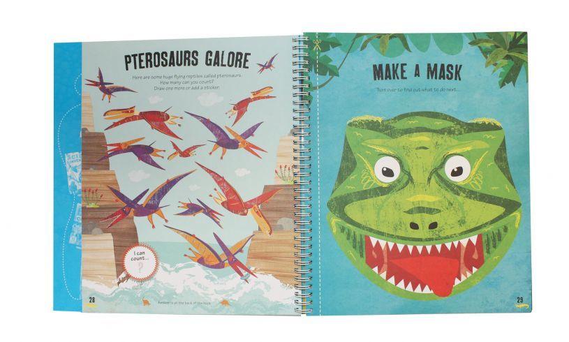 The Dinosaur Creativity Book 1