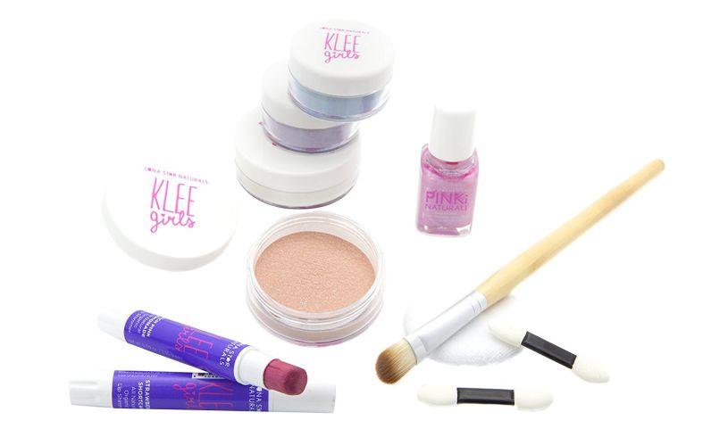 Klee Girls 7 Piece Makeup Kit Contents