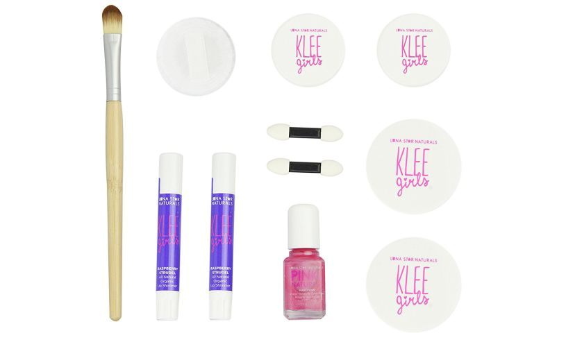 Klee Girls 7 Piece Makeup Kit Detail