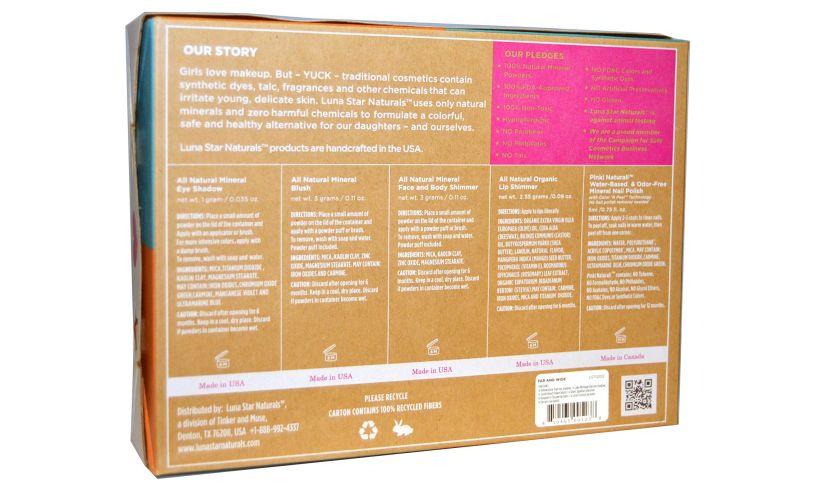 Klee Girls 7 Piece Makeup Kit Box