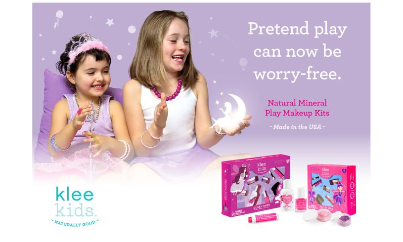 Klee Kids Sparkle Fairy All Natural Makeup Kit' Splash