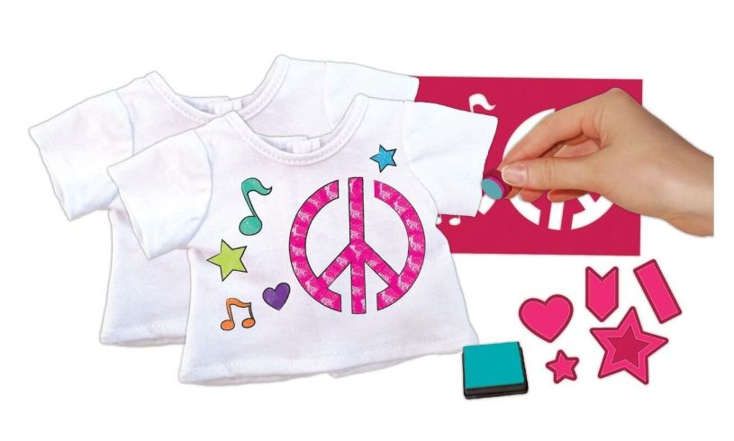 American Girl T-shirt Design Kit - Brilliant Childrens Presents