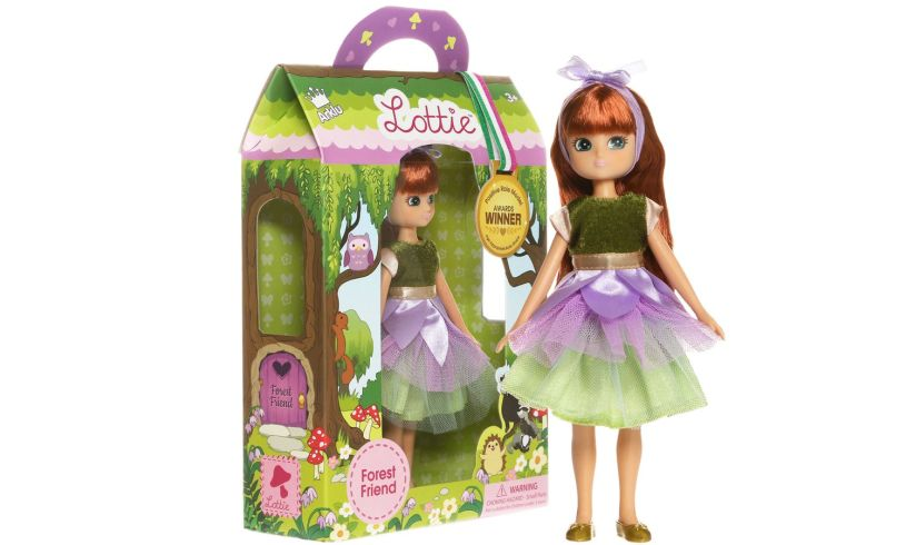 Lottie - Forest Friend Doll Content
