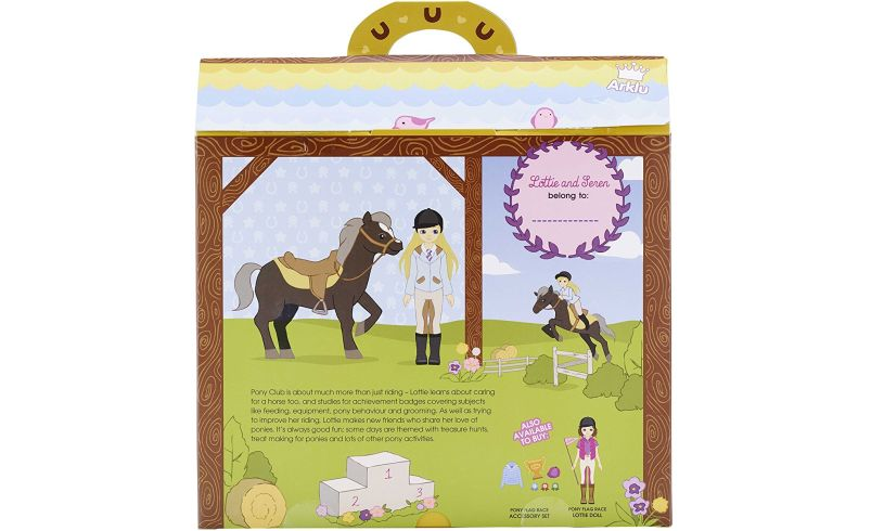 Lottie Pony Club Back