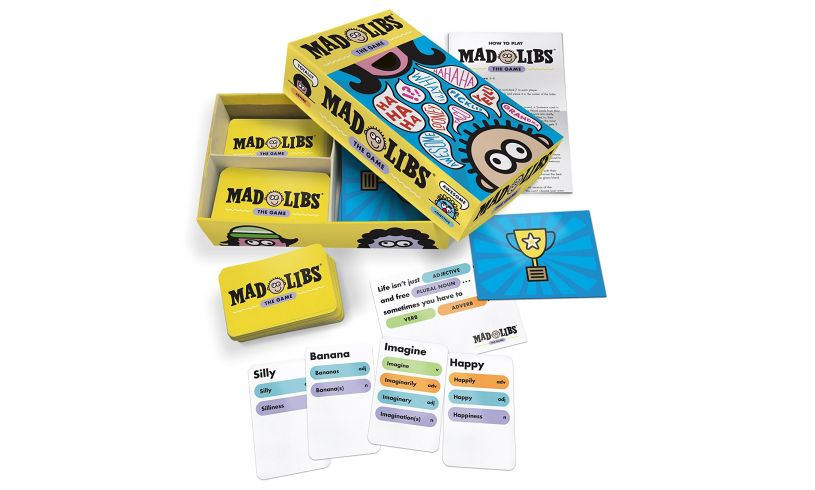 Mad Libs: the Game Contents