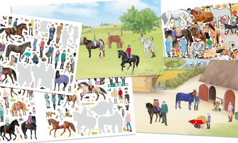 Create Your Happy Horses Contents
