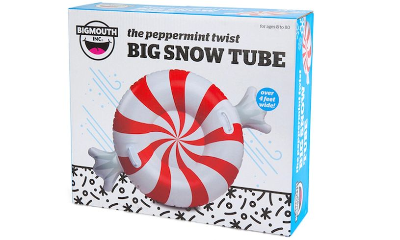 Peppermint Twist Big Snow Tube