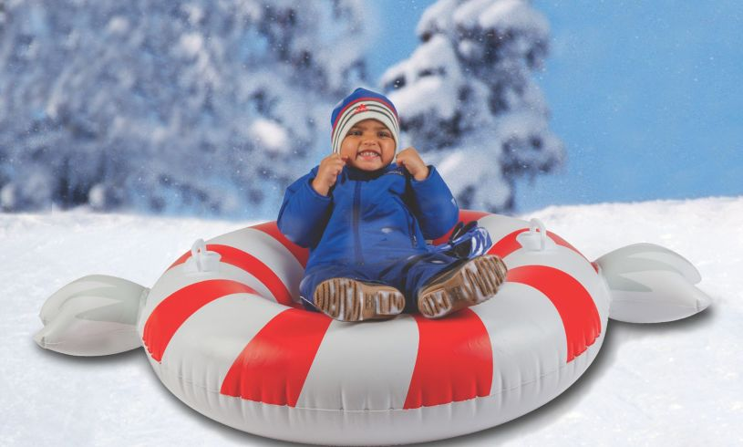 Peppermint Twist Big Snow Tube kid