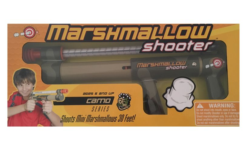 Mini-Marshmallow Shooter Box
