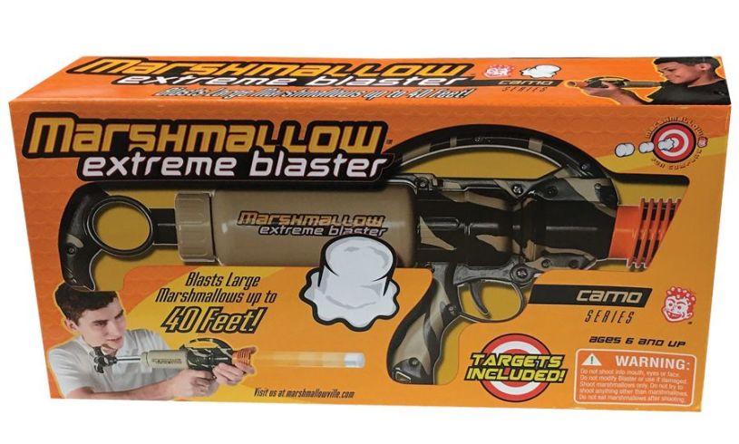 Extreme Marshmallow Blaster' box