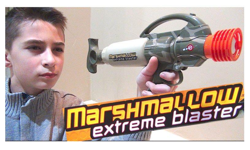 Extreme Marshmallow Blaster' shooter