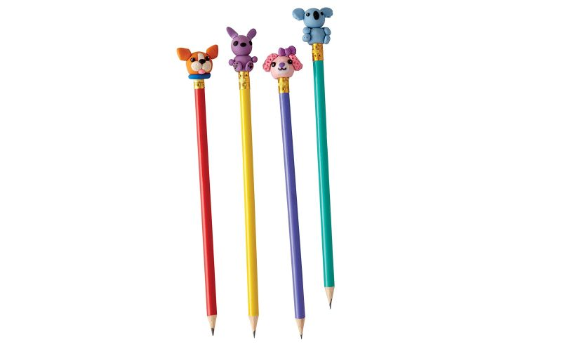 Make Your Own Mini Erasers pencils