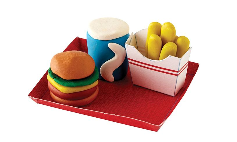Make Your Own Mini Erasers fast food